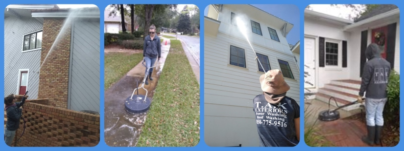 Power Washing – T A K  Exteriors